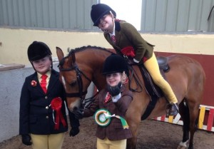 IPS Limerick/Clare Girls Megan, Victoria and Carol - Upper Mace 2014
