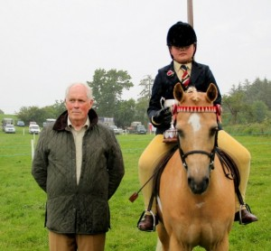 Megan O' Sullivan & Rollswood Nureyev 138cm Show Pony Winners Kilusty 2014