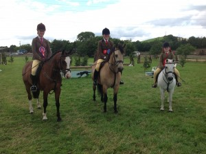 4th July 2015 - Jodie Creighton, Hawk Eye, Charlotte Smiley, Teach Mor Knight and Ellie Johnston, Dapple